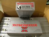 200 Round Case of Winchester 55 Grain .223 Remington CXP1 - 1 of 2