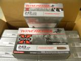 200 Round Case of Winchester 100 Grain .243 Winchester Power-Point - 1 of 2