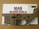 MAG Tactical Systems MG-G4 FDE AR-15 Lower - 2 of 4