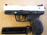 Ruger SR22 Rimfire Pistol Stainless Slide .22 LR 3607 - 1 of 5