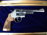Smith & Wesson Model 29 Nickle .44 Magnum with Cherry Display - 1 of 6