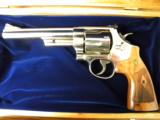 Smith & Wesson Model 29 Nickle .44 Magnum with Cherry Display - 2 of 6