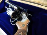 Smith & Wesson Model 29 Nickle .44 Magnum with Cherry Display - 5 of 6
