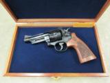 Smith & Wesson Model 29 Engraved .44 Magnum with Mahogany Display 150783
