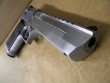 Magnum Research Desert Eagle Mark XIX .50 AE Brushed Chrome - 6 of 6