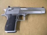 Magnum Research Desert Eagle Mark XIX .50 AE Brushed Chrome - 1 of 6