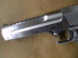 Magnum Research Desert Eagle Mark XIX .50 AE Brushed Chrome - 5 of 6