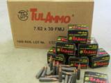 1000 Round Cases of 7.62X39mm TulAmmo - 1 of 3