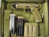 FNH FNX-45 Tactical Dark Earth .45ACP Threaded Barrel - 1 of 6