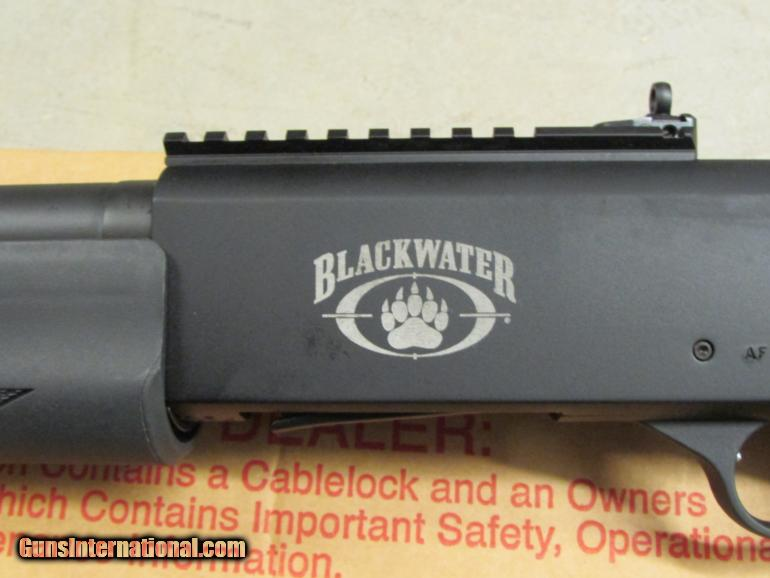 Mossberg 930 Spx Semi Auto 12 Gauge Blackwater Edition