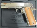 Armscor Rock Island 1911 Polished Nickel GI .45 ACP 51433 - 2 of 8