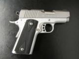 Kimber Stainless Ultra Carry II Micro 1911 45ACP - 1 of 6