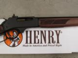Henry .30-30 Win. Lever-Action Rifle Steel Round Barrel - 5 of 6