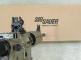 Sig Sauer SIGM400 Enhanced FDE AR-15 .556 NATO - 6 of 6