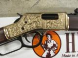 Henry Big Boy Deluxe II Lever-Action .45 Colt Hand Engraved - 5 of 9