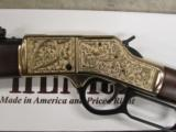 Henry Big Boy Deluxe II Lever-Action .45 Colt Hand Engraved - 6 of 9