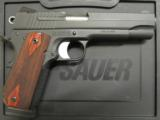 Sig Sauer 1911 Carry Fastback .45ACP - 1 of 8