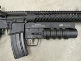 Del-Ton AR15 DTI Evolution with Spikes Tactical Havoc 37mm Launcher - 5 of 8