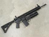 Del-Ton AR15 DTI Evolution with Spikes Tactical Havoc 37mm Launcher - 1 of 8