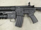 Del-Ton AR15 DTI Evolution with Spikes Tactical Havoc 37mm Launcher - 3 of 8