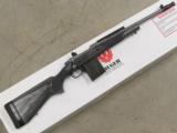 Ruger M77 Gunsite Scout Stainless 16.5