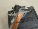 Sig Sauer 1911 STX Burled Maple Grips .45 ACP 1911-45-STX - 10 of 10
