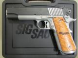 Sig Sauer 1911 STX Burled Maple Grips .45 ACP 1911-45-STX - 2 of 10