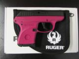 Ruger LCP Raspberry Frame .380 ACP/AUTO 3705 - 1 of 7