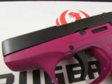 Ruger LCP Raspberry Frame .380 ACP/AUTO 3705 - 5 of 7