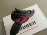 Ruger SR22 Raspberry Frame .22 LR 3608 - 10 of 10