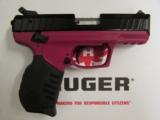 Ruger SR22 Raspberry Frame .22 LR 3608 - 2 of 10