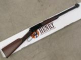 HENRY CLASSIC LEVER ACTION RIFLE ROUND BARREL .22 WMR MAGNUM H001M - 1 of 7