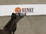 HENRY CLASSIC LEVER ACTION RIFLE ROUND BARREL .22 WMR MAGNUM H001M - 7 of 7