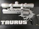 Taurus Tracker Model 218 7-Shot .218 Bee Revolver with Scope - 1 of 8