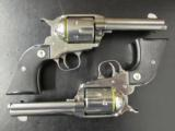 Pair of Ruger Vaquero SASS Single-Action .357 Magnum - 2 of 6