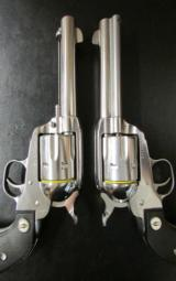 Pair of Ruger Vaquero SASS Single-Action .357 Magnum - 4 of 6