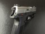 FNH FNX-9 Stainless 9mm with Sig Laser - 8 of 8