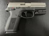 FNH FNX-9 Stainless 9mm with Sig Laser - 2 of 8