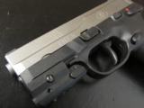 FNH FNX-9 Stainless 9mm with Sig Laser - 7 of 8