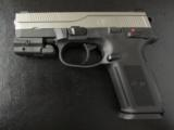 FNH FNX-9 Stainless 9mm with Sig Laser - 3 of 8