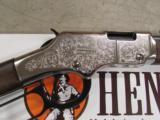 Henry Silver Eagle Engraved Lever-Action .22 S-L-LR - 7 of 9