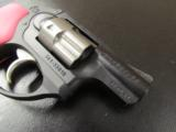Ruger LCR Double-Action .38 SPL Pink Hogue Grips - 5 of 8