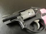 Ruger LCR Double-Action .38 SPL Pink Hogue Grips - 6 of 8