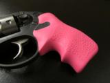 Ruger LCR Double-Action .38 SPL Pink Hogue Grips - 1 of 8
