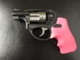 Ruger LCR Double-Action .38 SPL Pink Hogue Grips - 3 of 8