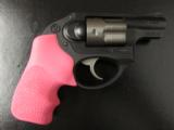 Ruger LCR Double-Action .38 SPL Pink Hogue Grips - 2 of 8