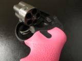 Ruger LCR Double-Action .38 SPL Pink Hogue Grips - 7 of 8