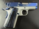 Kimber Sapphire Ultra II Special Edition Officer's Size1911 9mm - 1 of 8