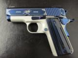 Kimber Sapphire Ultra II Special Edition Officer's Size1911 9mm - 5 of 8