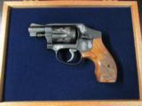 Smith & Wesson Model 442 Centennial AirWeight Engraved .38 Special - 2 of 10
